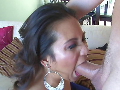 Lucky Pool House-servant Pounds Slinky Asian Baby